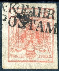 Buy Online - 1850 FIRST ISSUE T.P.O. CANCEL (025537)